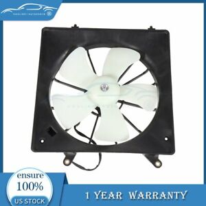 For 98 02 Honda Accord 2 3l Driver Side New Radiator Cooling Fan Fits 620 227