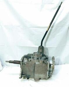 Jeep Tremec Manual 4 Speed Transmission Modified For Ford 2 78 W Shifter Cj