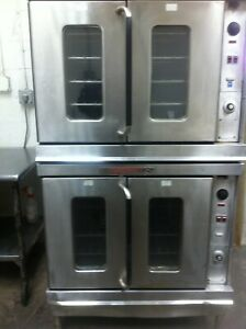 Bakery Equipment Montague Double Convection Oven