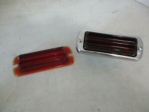 Nos Lucas L464 Tail Light Lens Rolls Royce Bentley Jaguar Lagonda English Cars