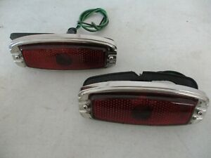 New Vintage Side Marker Lights Rolls Royce Bentley Jaguar Lagonda English Cars