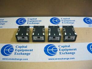 Lot Of Four Micro Switch Push button Switches Aml 21 Series 21989000