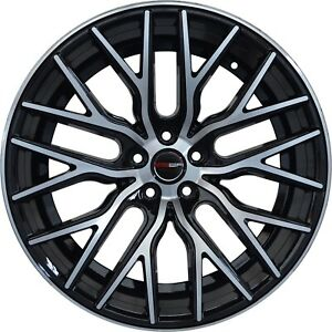 4 Flare 20 Inch Black Rims Et20 Fits Jeep Grand Cherokee Overland 2012