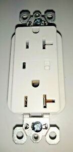 Pass Seymour Pt5362wsp Plugtail Spd Receptacle Surge Alarm White 15a Free Ship