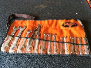 Williams 15 Piece Small Thin Ignition Wrench Set With Pouch