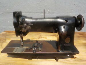 Industrial Sewing Machine Singer 112 140 Twin Needle Leather