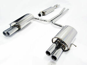 Obx Catback For 03 09 Volvo Xc90 2 5t T6 V8 Quad Tip Exhaust System