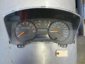 Grg414 Gauge Cluster Speedometer Assembly 2008 Chevrolet Colorado 3 7 25894034