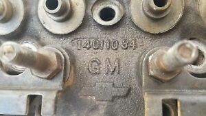 Small Block Chevrolet Bowtie Ported Cylinder Heads 14011034