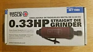 Matco Tools 33 Hp Straight Die Grinder Mt1980 New