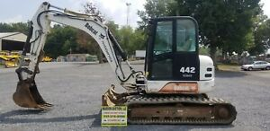 2005 Bobcat 442 Excavator Just Serviced Full Cab