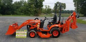 2018 Bx23s Compact Loader Tractor W mower And Backhoe 72 Hours Warranty