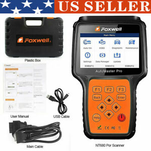 Car Tool Nt680 Pro All System All Makes Obd2 With Special Functions Scanner Tool
