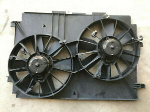 As Is 98 02 Camaro Z28 Oem Ls1 12 Dual Electric Fans 28 X18 Cooling Shroud