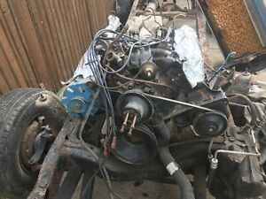 Ford 351m Engine C6 Automatic Transmission And Np 205 Transfer Case