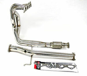 Obx Exhaust Header For 00 01 02 03 04 05 Mitsubishi Eclipse Gs Rs 2 4l Full Race