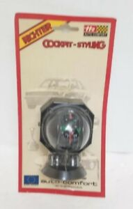 Vintage Richter German Cockpit Styling Auto Compass New In Package Nos