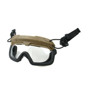 ANSI Rated Tactical Helmet Mounted Goggle System $74.99