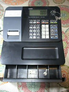 Casio Entry Level Thermal Cash Register Pcr t273 With Keys Powers On Prints