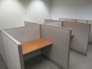 4x4 Call Center Sales Cubicles 9 12 Cubes Depends On Design 150ea Installed Atl