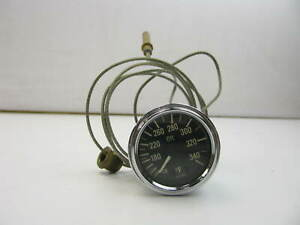 Vdo 2 Mechanical Oil Temp Temperature Gauge W Sender F