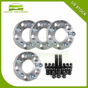 New 4pc 1 Thick 5x4 5 5x114 3 1 2 Wheel Spacers 23pcs Lug Nuts Ford Ranger