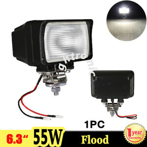 1x 6 3 55w Xenon Hid Work Light Flood 4300k Fog Lamp For Off Road Boat 4x4 Jeep