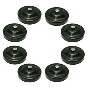 8x Magnetic Base Mount Bracket Clamps Led Work Light Bar Holder Offroad Suv 4wd