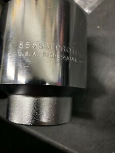 Proto J5555m 55mm 3 4 Drive 12 Point Standard Socket