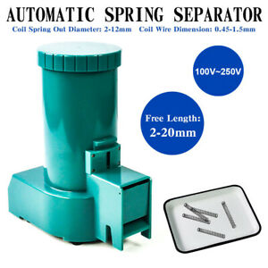 Top Automatic Spring Separator Small Spring Separating Machine 100v 250v Us Ship