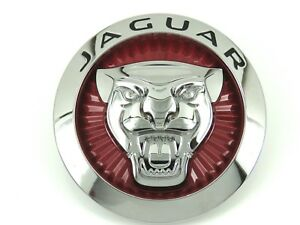 Genuine New Jaguar Growler Grille Red Badge Emblem For F pace Xf 2016