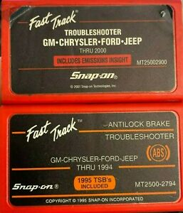 Snap On Domestic Troubleshooter Set For Mt2500 Mt25002900 Mt25002794