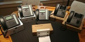 Fortinet Fortivoice Enterprise 20e4 Ip pbx Phone System 5 Fortinet Ip Phones