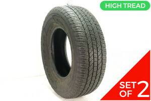 Set Of 2 Used 265 70r16 Goodyear Wrangler Fortitude Ht 112t 10 32