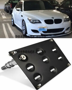 For Bmw E60 5 Series M5 Tow Hook Hole Cover License Plate Bracket Mount Holder