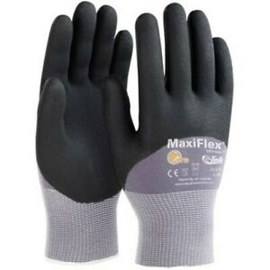 Pip Maxiflex Nitrile Micro foam Coated Gloves Medium 34 875 m 12 Pairs