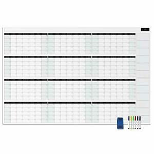 Yearly Dry Erase Wall Calendar Jtsc Products Jumbo 38x58in Annual Planner For