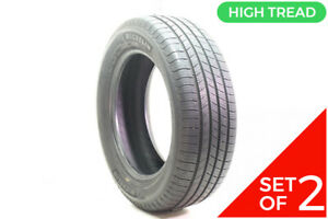 Set Of 2 Used 235 60r18 Michelin Defender T h 103h 9 5 10 32