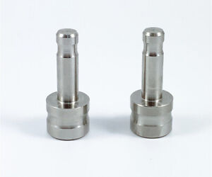 2pcs Stainless Steel Adapter 5 8 X 11 Thread To Dia 12 Mm Pole For Leica Prism