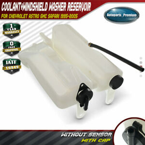 Engine Coolant Tank Windshield Washer Reservoir For Cheyrolet Gmc Safari 603 105