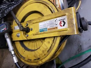 Graco Lube Hose Reel With Hose 237022 Series L01c With Lube Gun