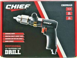 Chief 1 2 Professional Reversible Air Drill 64636 Ch05rad