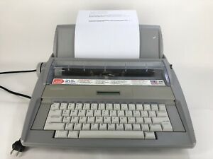 Brother Typewriter Sx 4000 Electric Works But Needs Roller Repair