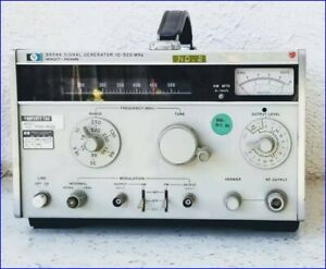 Hewlett Packard Hp 8654a 10 520 Mhz Signal Generator Tested Working