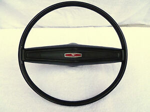 1970 Mustang 70 Boss 302 Standard Black Interior Steering Wheel 1971 1972 1973