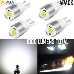Alla Lighting Bright White Led Instrument Cluster 168 Bulb Set Of 4 for Ford