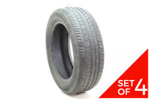Set Of 4 Used 205 55r16 Goodyear Eagle Rs a 89h 5 5 7 32