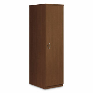 Hon Foundation Personal Wardrobe Cabinet 18w X 24d X 66h Shaker Cherry Lmpwcf