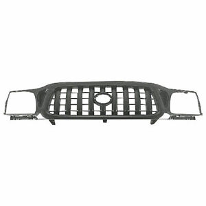New Fits 2001 2004 Toyota Tacoma Front Grille Matte Black 5310004250c0 To1200250