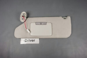 2008 2012 Jeep Liberty Driver Side Sun Visor With Lighted Mirror And Adjust Bar